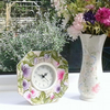 Hand made Sweetpea octagon clock