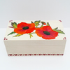 Poppy Keepsake or jewellery Box