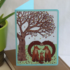 Autumn Rain Card