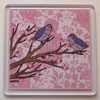Love Bird Coaster (Pink)