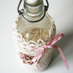 Crochet Wine Bottle Gift Bag