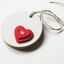 SALE   Wedding Decoration Heart Gift Tag