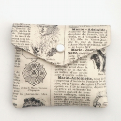 Encyclopedia pouch - organic cotton - free shipping