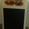 Large Decorated Chalk Board Blackboard Jam Shabby Chic Country Kitchen Decoupage