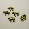5   Antique Bronze Horse or Pony Charms