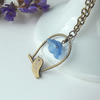Bluebell birdie - long necklace