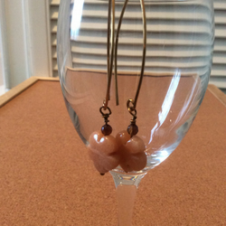 Quartzite Flower Drop Earrings