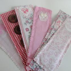 handmade fabric bookmark - mothers day gift