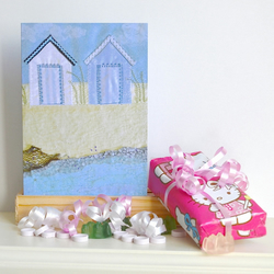New home card - Beach Huts