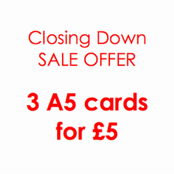 SALE Birthday card special offer - 3 cards
