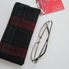 SALE Tartan glasses case