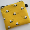 SALE Bees  Coin Purse