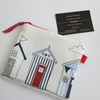 SALE Beach Huts Coin Purse