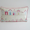 Beach Huts  Cushion Cover