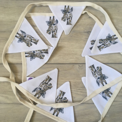 Giraffe, bunting, garland, for giraffe lovers, giraffe gift