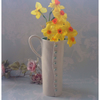 Handmade porcelain button jug large, discounted