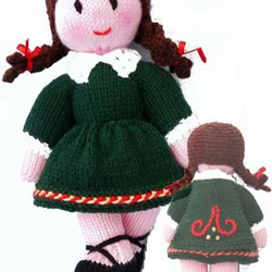 The Irish Dancer Toy Knitting Pattern Pdf Email Folksy