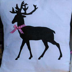 Handmade Stag Cushion