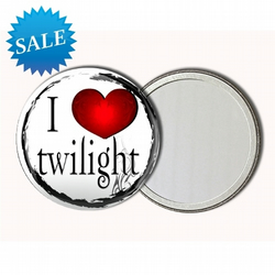 SALE! 58mm Twilight inspired Pocket Mirror - 21 different illustrations to choose from - was £4.99