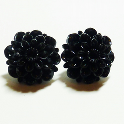 Chrysanthemum Stud Earrings - Flower Power! ***reserved for the lovely AmyWoos**