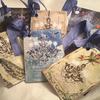 Shabby Chic Chandelier Gift Tags x 9
