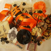 Halloween Inspiration Kit Altered Art/Scrapbooking
