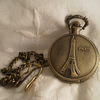 Vintage Style Paris Pocket Watch Fob