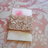 Vintage Lace and Postcard Set