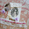 Vintage Beauty Vintage Paper Ephemera lace Buttons Inspiration Kit