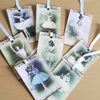 Gift Journal Tags Vintage Ballerina x 8