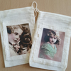 Gift Muslin Bag Set  Adorable Children