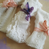 Broderie Anglaise Vintage White Cotton Trim x 3
