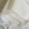 Vintage Wedding Handkerchief Lace Border