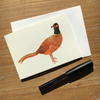 Pheasant (set of 5 cards)