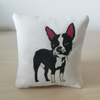 Boston Terrier Mini Cushion Pillow Cotton