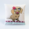 Dachshund Girl Mini Cushion