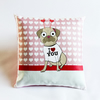 Pug Love Cushion Decorative Pillow
