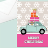 Chihuahua Christmas Card, Car and Gifts