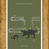 "JURASSIC PARK - Theme by John Williams - Movie Classics Poster (A3 or 11x17"")"