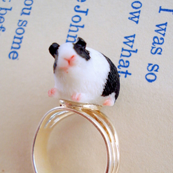 Cute Guinea Pig Ring