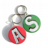Alphabet key ring chose your own letter personalised keyring