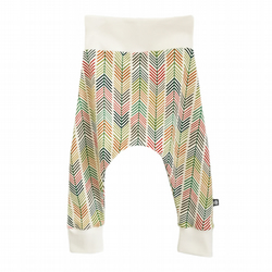 ORGANIC Baby HAREM PANTS Relaxed Trousers ARROW STRIPES A Gift Idea by BellaOski