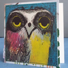 Upcycled Brian Wildsmith Owl Card (1969), One-Of-A-Kind (11)