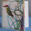 Upcycled Brian Wildsmith Kingfisher (1969) Card, One-Of-A-Kind (36)