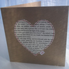 Sale - Eco Jane Eyre Heart Card