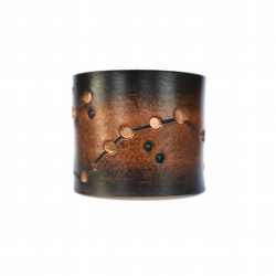 Zodiac Leather Cuff Scorpio