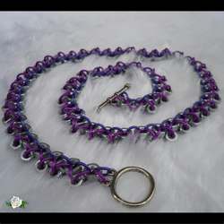 Industrial purple maille