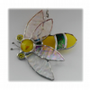 Bee Suncatcher Stained Glass Bumble Queen 021