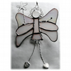 Fairy Angel Suncatcher Stained Glass white Christmas 018