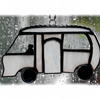 Classic Motorhome Stained Glass Suncatcher Mini 020